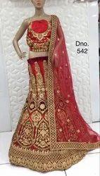 Bridal Lehenga Choli Heavy Embroidery Work And Hand Work