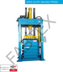 Used Cloth Baling Press