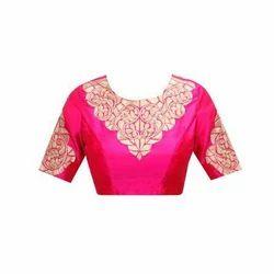 Silk Stitched Blouse