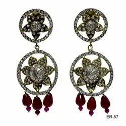 Silver Color AD Jewellery