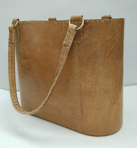 41b9614eb94c95 M B Exports Tan Ladies Leather Bags, Rs 1200 /piece, M. B. Exports ...