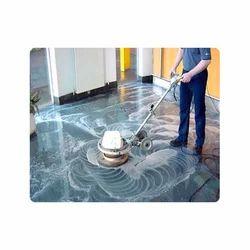 Concrete Floor Polishing Services, in Client Site