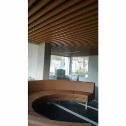 Aluminium Baffle False Ceiling
