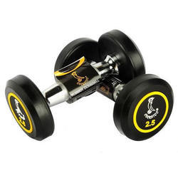 Cockatoo PU Round Rubber Dumbbell