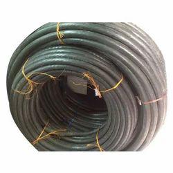 Black Aluminium Armoured Cable