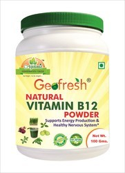 GEOFRESH Natural Vitamin B12 Powder