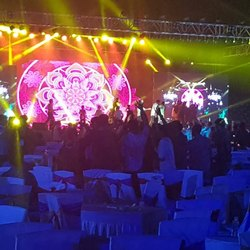 LED Wall Wedding Stage