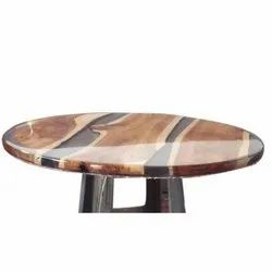 2 Feet Wooden Round Table
