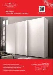 FINESSE Aluminium TOPLINE /IN-LINE SLIDING FITTING, 150MM