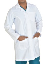 Terry Cotton Lab Coats