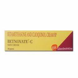 Betnovate-C (Betamethasone+Clioquinol (Iodochlorhydroxyquin)