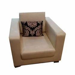 Modern Single Seater Leather Sofa