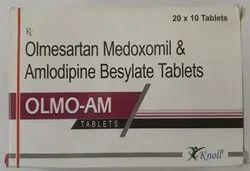 Olmesartan Medoxomil & Amlodipine Besylate Tablets