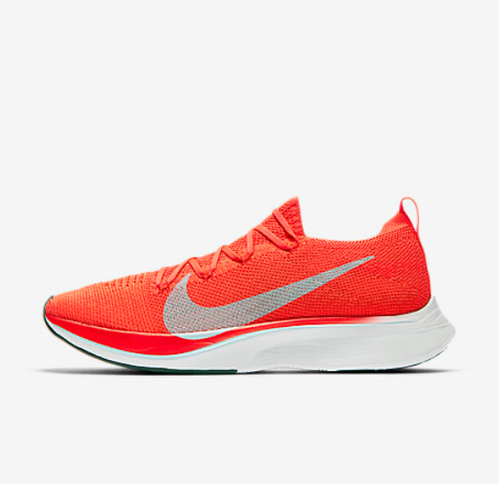 6f7fc99f441 Red Nike VaporFly 4 Flyknit Shoes
