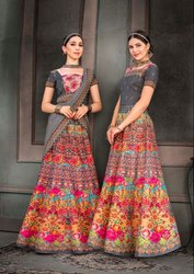 Pr Fashion Launched Beautiful Designer Two In One Lehenga Which You Make It As Floor Length Suit
