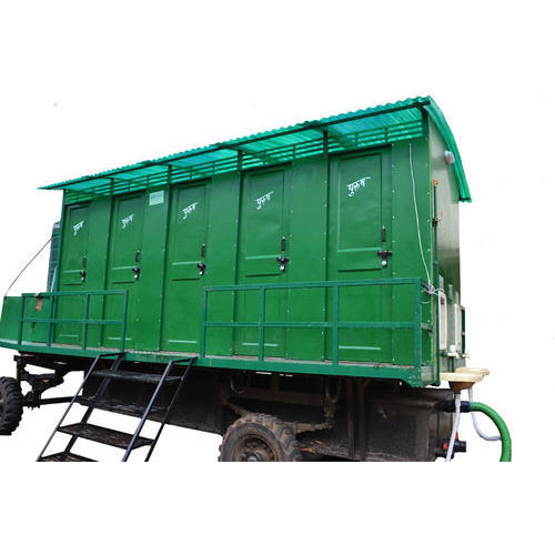 10 Seater Bio Mobile Toilet Van