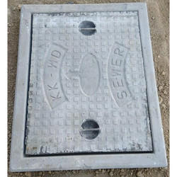 RCC Manhole Cover With Frame