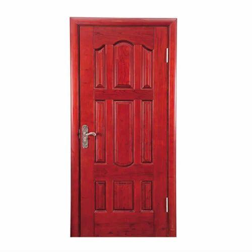 Ordinaire Interior Finished Red Cherry Wooden Door
