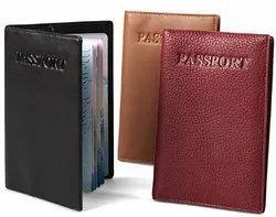 Leather Passport Travel Case