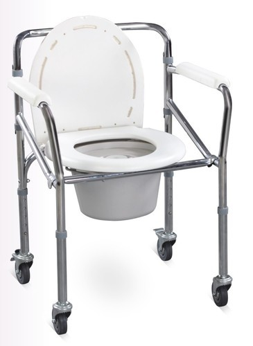 Commode Chair With Wheels at Rs 2168 /piece | Kushaiguda | Hyderabad ...