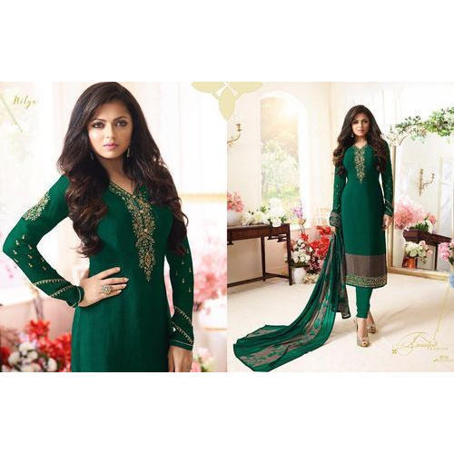 c1e9dae3ca Ladies Embroidered Bollywood Party Wear Suit