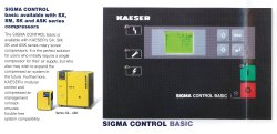 Kaeser Sigma Compressed Air Controller With Sigma Control 2