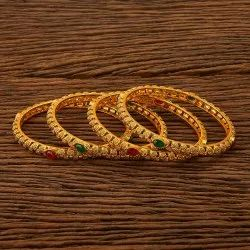 Antique Classic Bangles with gold plating 23113