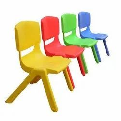 Kids Coloured Chair