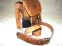 Goat Leather Satchel Bag