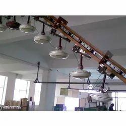 Fully Automatic Fan Testing Overhead Conveyor