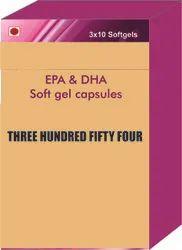 EPA and DHA Soft Gel Capsules