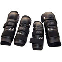 Motorcycle Riding Black Knee and Elbow Guard Set of 4