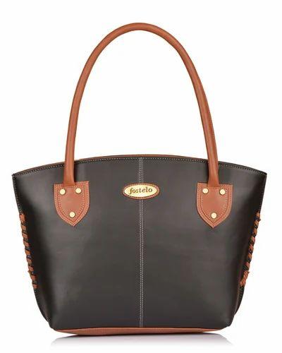 748159b43f Women Handbags - Fostelo Women s Alysse Handbag (Beige) (FSB-918) Ecommerce  Shop   Online Business from Secunderabad