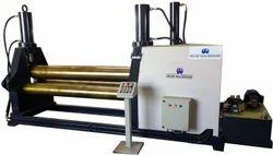Hydro - Mechanical Plate Rolling Machine