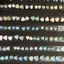 Natural Ethiopian Opal Stone Smooth Trillion Cabochon Loose Gemstone Deal