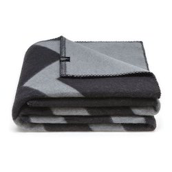 Grey Double Ply Messi Blanket