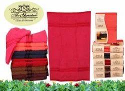 Multicolor Cotton Hand Towel, Size: 40*60 Cm