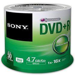 Sony DVD 50 Pack
