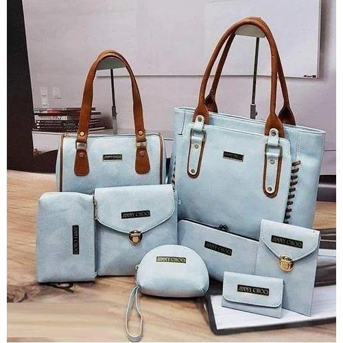 6f3208c16f Jimmy Choo Plain Trendy Ladies Combo Bags, Rs 950 /set | ID: 19822007688