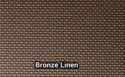 Stainless Steel Bronze Linen Sheets