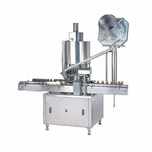 Automatic Capping Machine, ऑटोमेटिक कैपिंग मशीन, स्वचालित कैपिंग मशीन in  Vastral, Ahmedabad , Hyper Equipments   ID: 15857249088