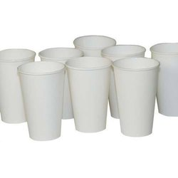 White Disposable Paper 250 Ml