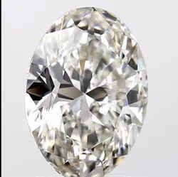 Oval Cut 2.00ct Lab Grown Diamond CVD J VS2 IGI Certified Type2A