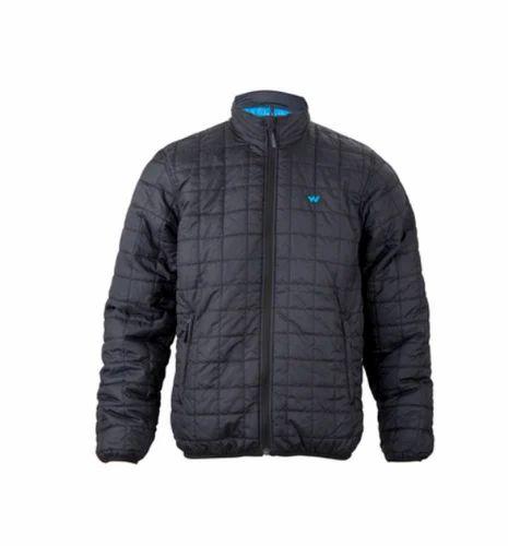 84271ec50 Black Mens Husky Self Packable Poly Jacket