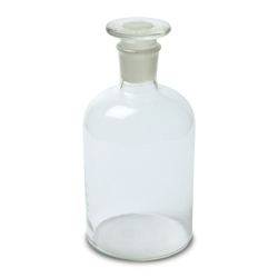 Glass Reagent Bottles Narrow Mouth, Chemical Laboratory