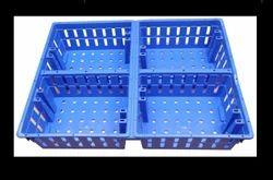 Blue Plastic Chick Transport Crate, Capacity: 30 Kg