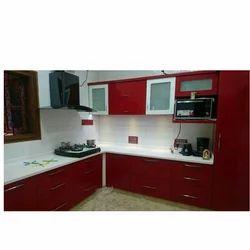 Acrylic Finished Modular Kitchens