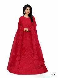 Exclusive Designer Chicken Work Salwar Suit By Parvati Fabric