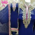 Georgette Party Wear Suits W-78