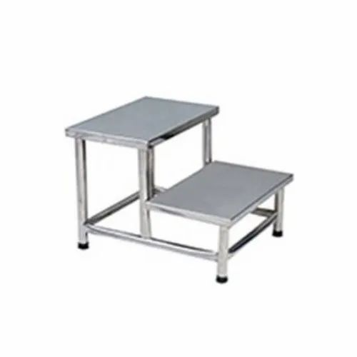 Tremendous Stainless Steel 2 Step Stool Gmtry Best Dining Table And Chair Ideas Images Gmtryco